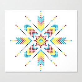 Asterisk Canvas Print