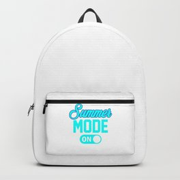 Summer Mode ON pbi Backpack