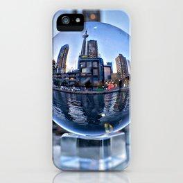 Toronto, Ontario Through Glass iPhone Case