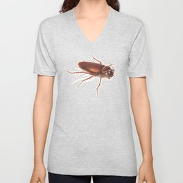 Roach by Lars Furtwaengler | Colored Pencil / Pastel Pencil | 2014 Unisex V-Neck