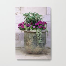 Flower Pot 3 Metal Print