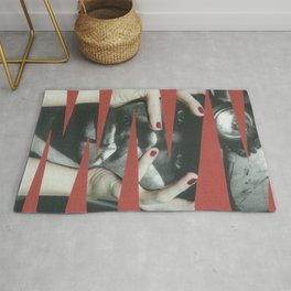 The scream Rug