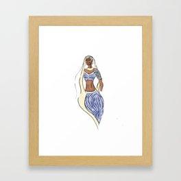 Bollywood style Framed Art Print