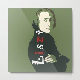 Liszt Metal Print