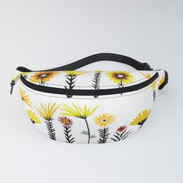 Sunny Days Ahead / floral art Fanny Pack