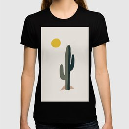Cactus and the Rising Sun T-shirt