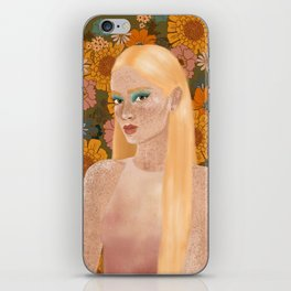 electric bloom iPhone Skin
