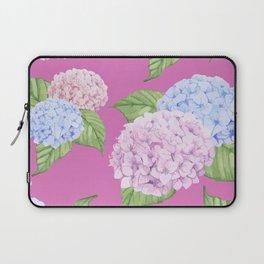 Pink Hydrangeas Laptop Sleeve