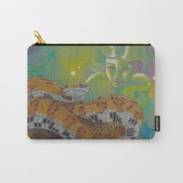 Serpent Goddess, Fantasy Snake Art Carry-All Pouch