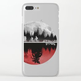 Stranger Thingss Clear iPhone Case