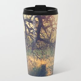 Gnarled old tree in the sun Travel Mug