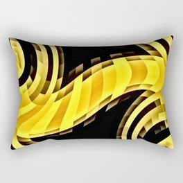 Cat stretch Rectangular Pillow