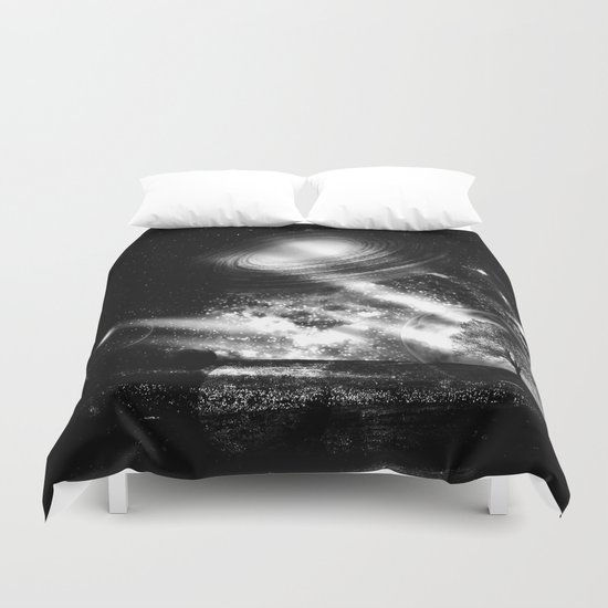 In a Lonely Place Duvet Cover