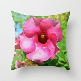 Gift for mum beautiful flower Throw Pillow