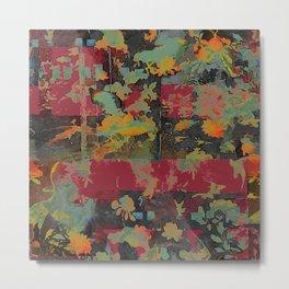Coromandel Abstraction Metal Print