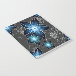 Cobalt And Charcoal Notebook