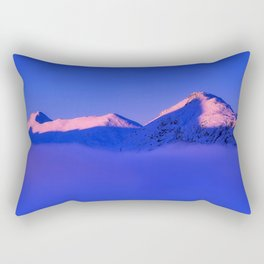 Chilly Peaks Rectangular Pillow