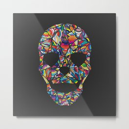 Under Your Skin in Glorious Technicolor Metal Print