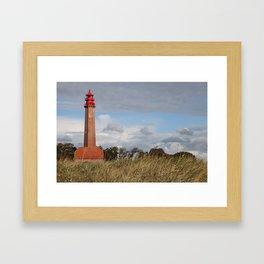 Lighthouse Flügge Framed Art Print
