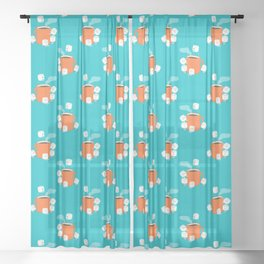 Cannonball Sheer Curtain