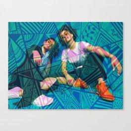 Trippy Broad City Canvas Print