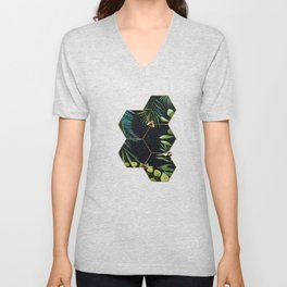 Bee Green Unisex V-Neck