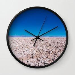 San Pedro de Atacama Salt Field, Chile Wall Clock