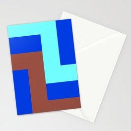 Modular Stripes Stationery Cards