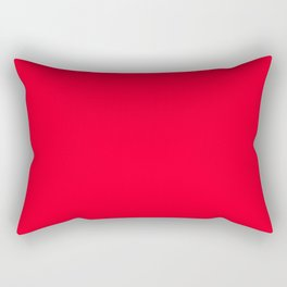 Bright Red Cherry Tomato - Spring 2018 London Fashion Trends Rectangular Pillow