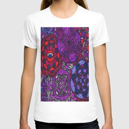 Spooky Flowers T-shirt