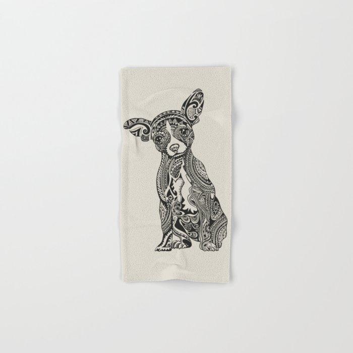 Polynesian Chihuahua Hand & Bath Towel