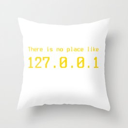 127.0.0.1 - IP address Throw Pillow