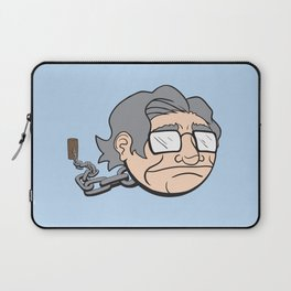Chain Chompsky - Bizarre Mashup of Noam Chomsky and a Chain Chomp from Super Mario Bros Laptop Sleeve