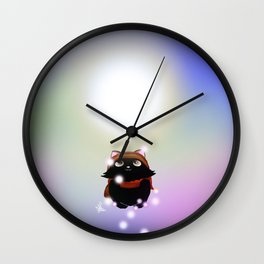 Quest for light Wall Clock