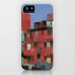 Downtown marketplace iPhone Case