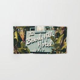 Beverly Hills Hotel Hand & Bath Towel