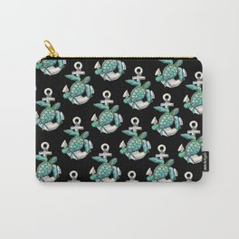 Sea Turtle Anchor Carry-All Pouch