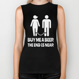 Buy Me A Beer The End Is Near Bachelor Party Biker Tank