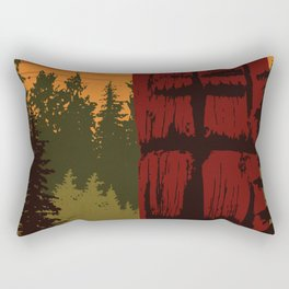 Gwaii Haanas National Park Reserve, National Marine Conservation Area Reserve & Haida Heritage Site Rectangular Pillow