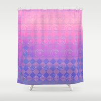 holographic Shower Curtains featuring Child of the Luna by Salymar