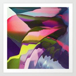 Growing colors Art Print