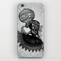 kobe iPhone & iPod Skins featuring Love Monochrome by AKIKO