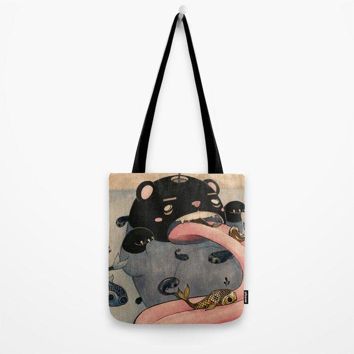 Fish Factory Tote Bag