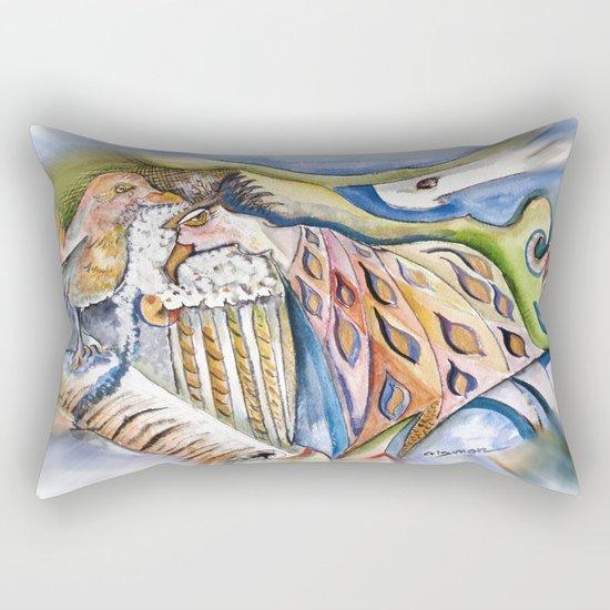 Listener Rectangular Pillow