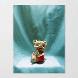 Honey Bear Squeaky Toy  Canvas Print