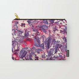 flowers 9 purple Carry-All Pouch
