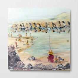 Days at the Beach, AUSTRALIA           by Kay Lipton Metal Print