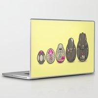 xenomorph Laptop & iPad Skins featuring Xenomatryoshka by Kate Moore