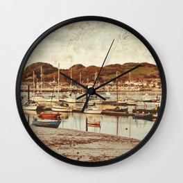 Tales from the Harbor Wall Clock