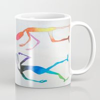 asexual Mugs featuring Human Transitioning by aalexhayes